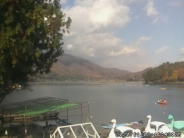 木崎湖ライブカメラ